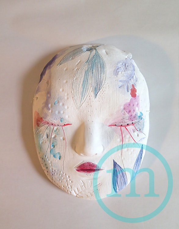 Masque de la lune fleurie - Mask of the moon flower