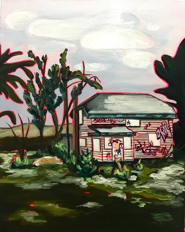 Arts House - 16x20