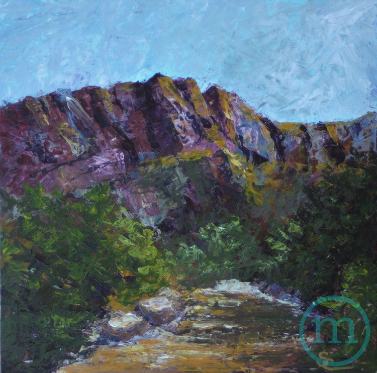 Sunset at Lyons 1 12 x 12 Sold