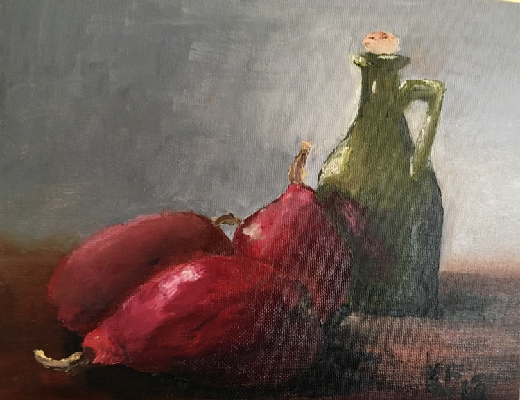 Pears & Jug