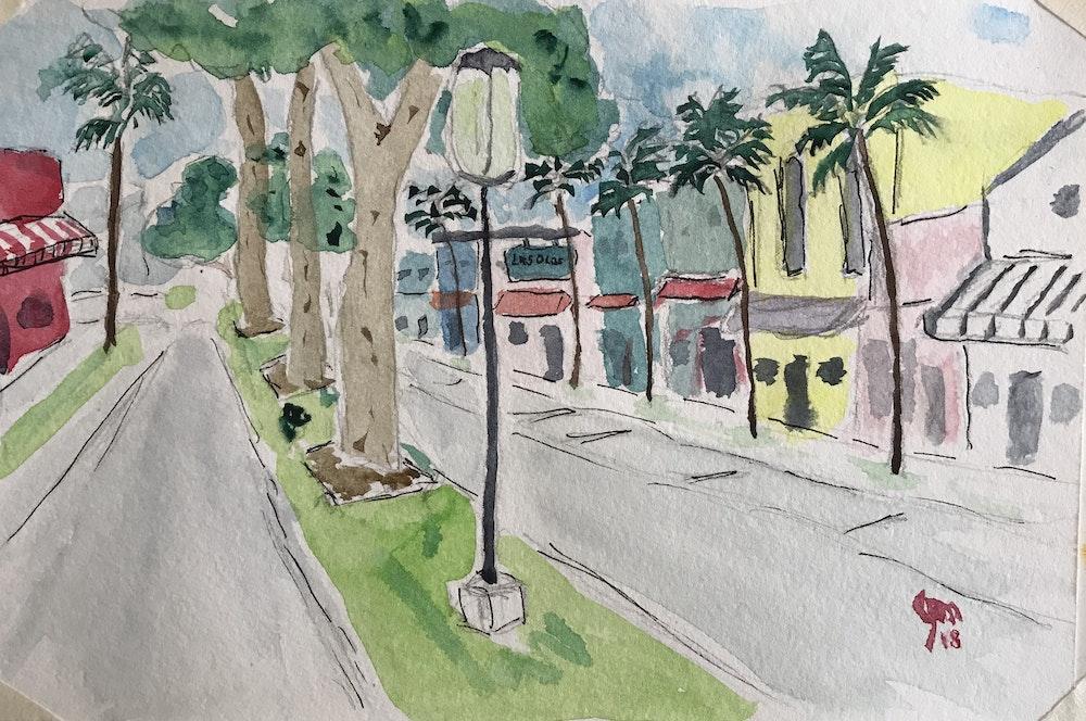 down las olas boulevard