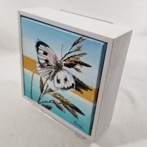 Beach Butterflies - Cabbage White