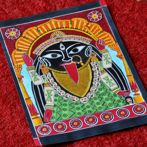 Kali (Indian Madhubani)