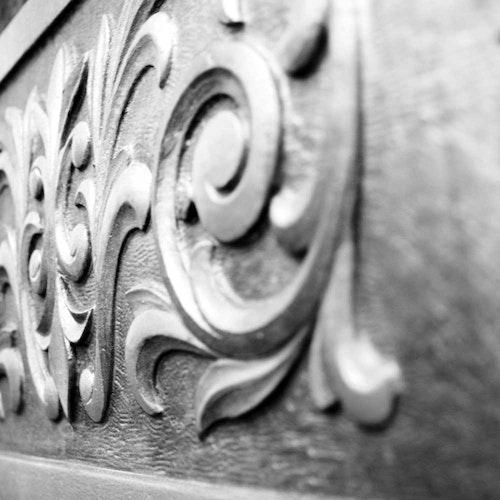 London Architectural Leaf Detail