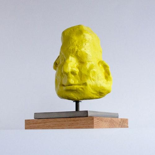 Sculpture - The Storyteller 3 (Yellow)