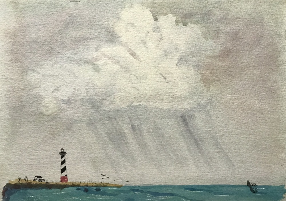storm on hatteras