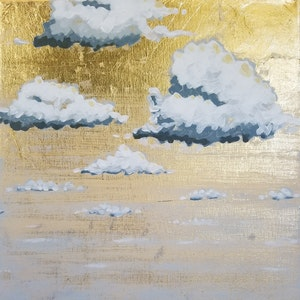 Golden Sea Horizon I-IV