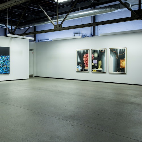 exhibition view at Galerie Division, Montreal, 2017