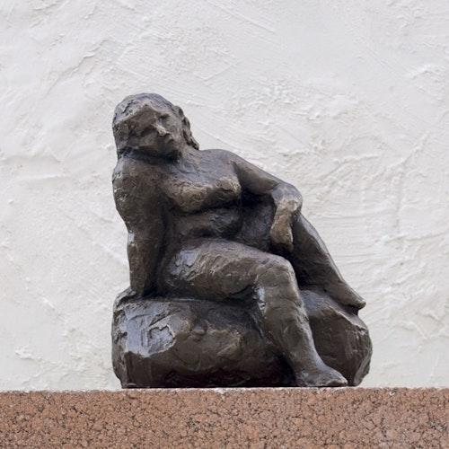 Sculpture - Bronze Seated Nude