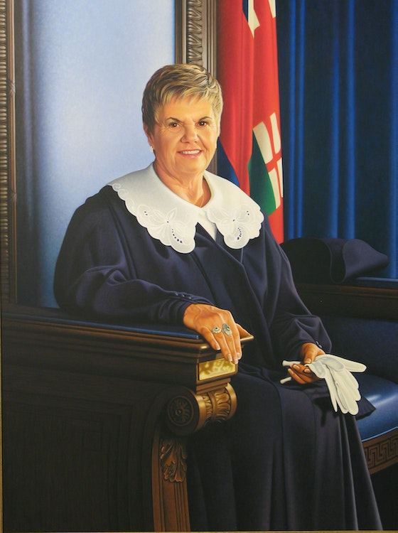 Speaker of the House Louise Dacquay