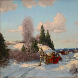 Winter, Eastern Township 1944