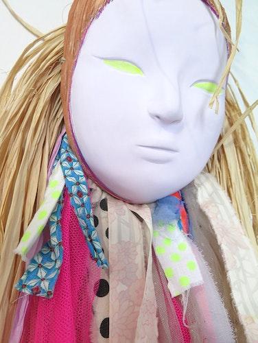 Le masque de Hilma, l'esprit des temps perdus - The mask of Hilma, the spirit of lost times