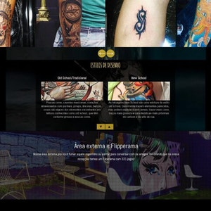 Site - Studio de Tatuagem