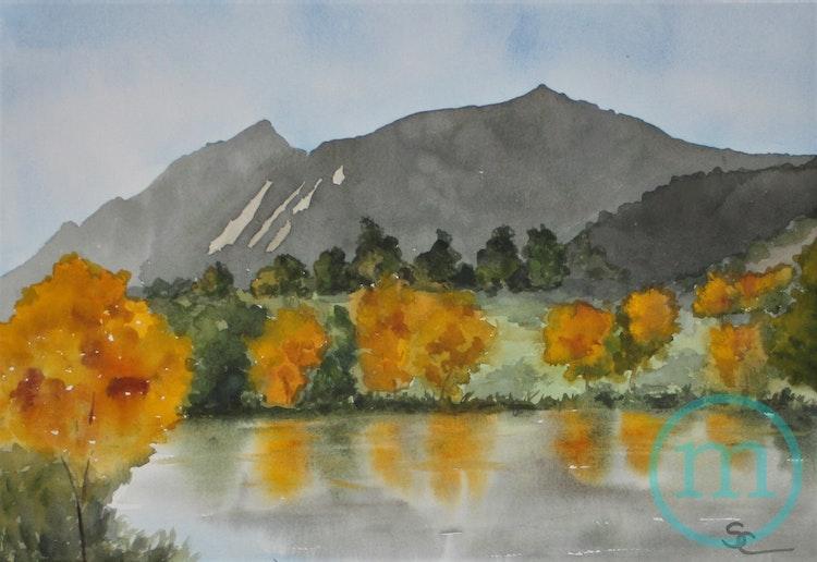 Peaceful Wonderland Lake 12.5 x 18