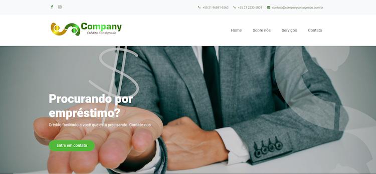 Site Company Consignado
