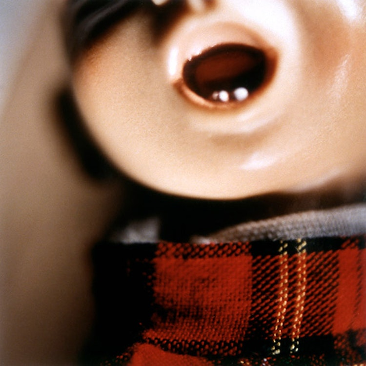 Doll Mouth (red plaid)
