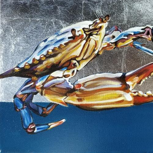 Blue Crab I (Framed)
