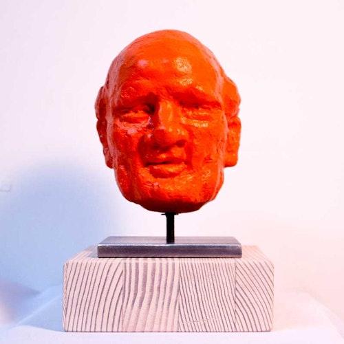 Sculpture - The Storyteller  (Orange)