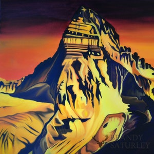Rocky Mountain Paintings Licensed to Island Art Publishing