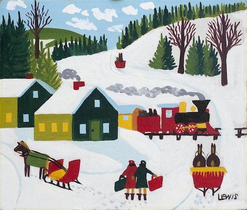Christmas Mail Train