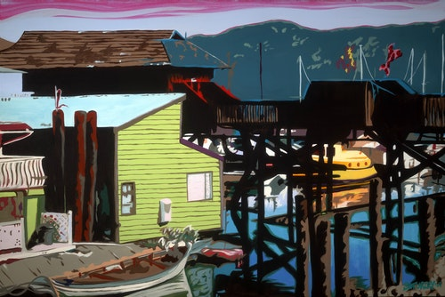 Cowichan Bay Reflections