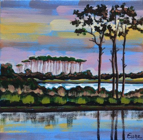 Grayton Pines Sunset Study