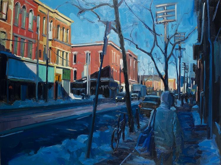 Winter on Queen Street
