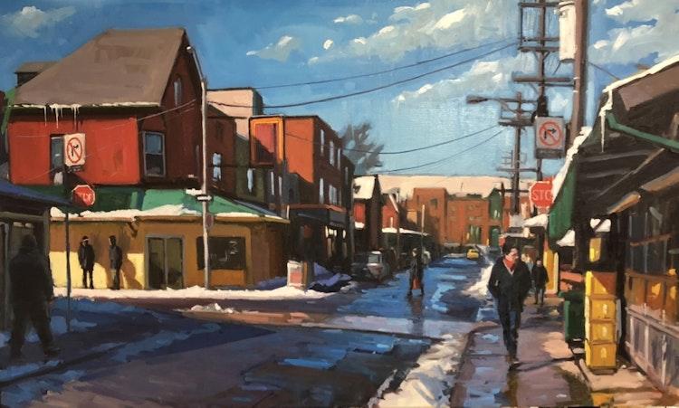 Augusta Avenue, Winter