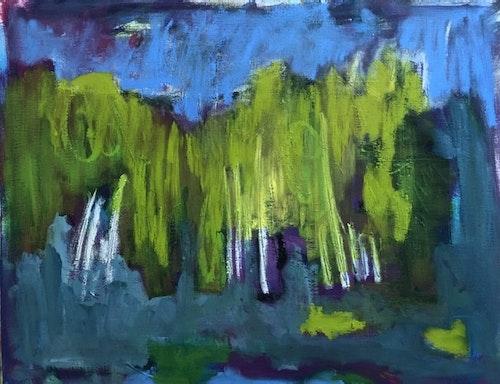 Birch at Dusk