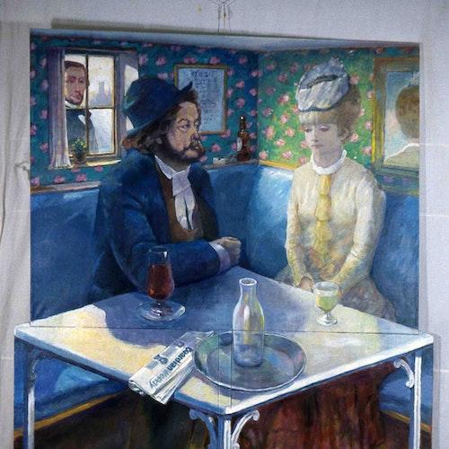 Monsieur Degas Finds his Friend
