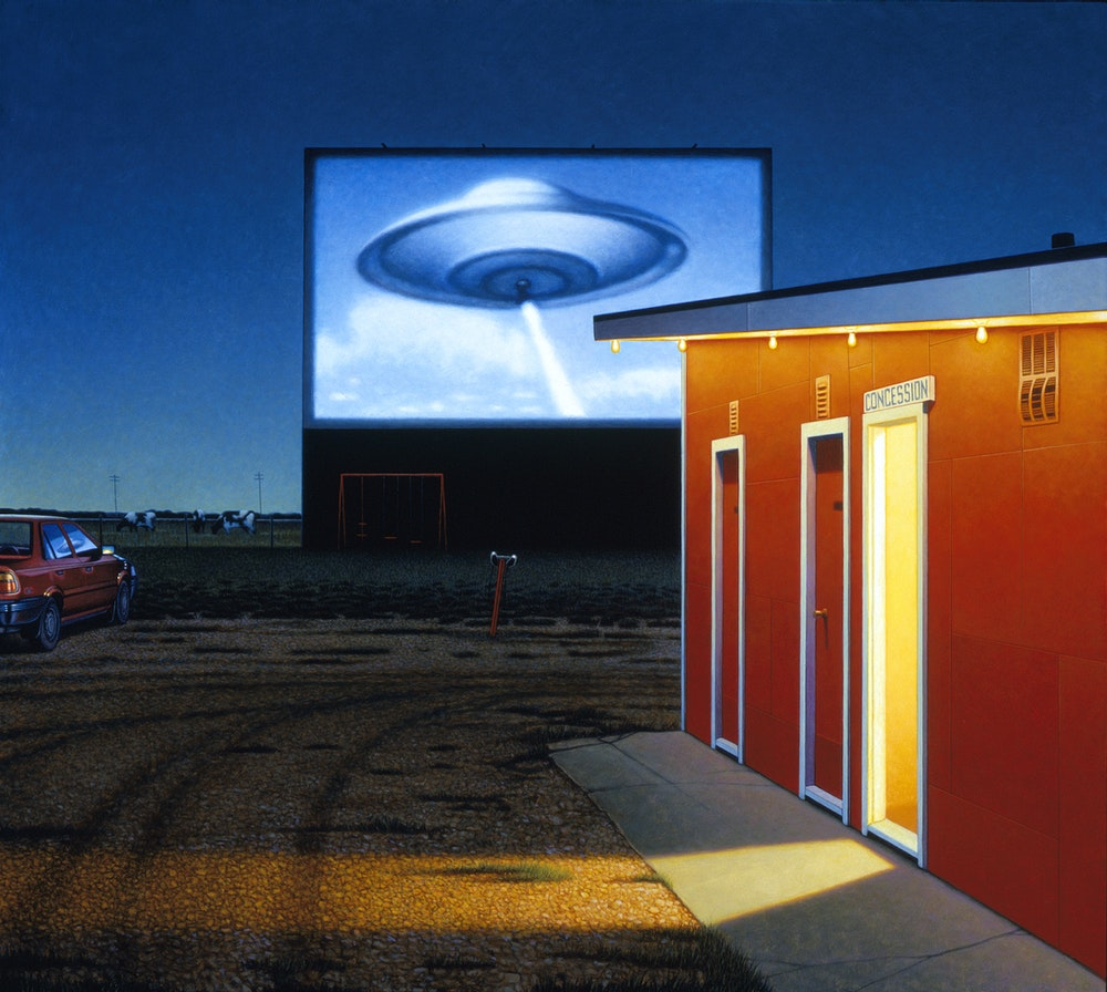 UFO Comes To Wosley