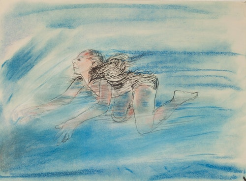 Swimmers, Study