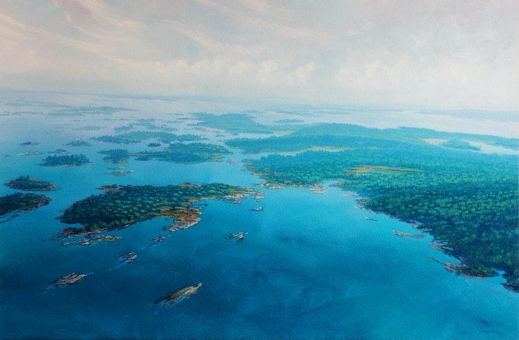 The Bay, Georgian Bay Ontario by Randolph Parker