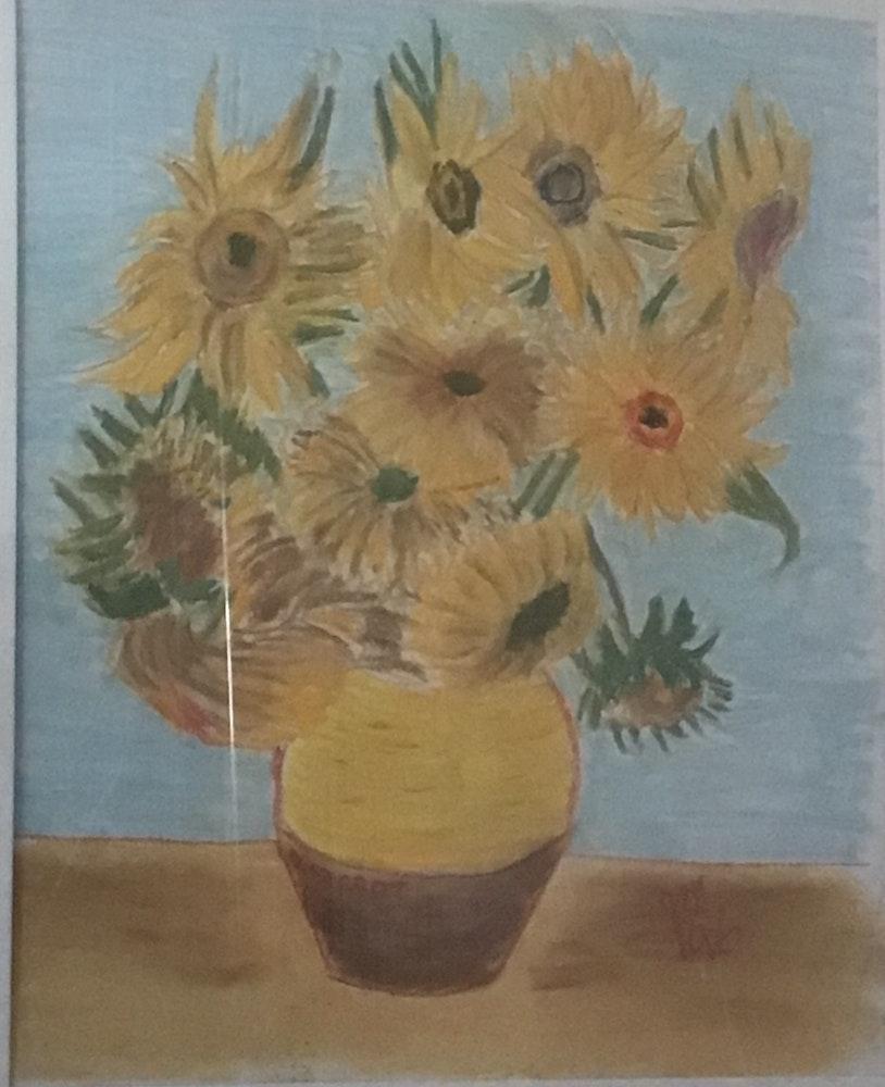 Sunflowers after VanGogh