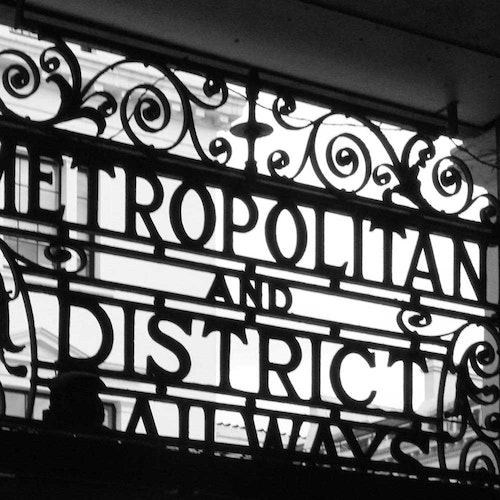 London Art Nouveau Railway