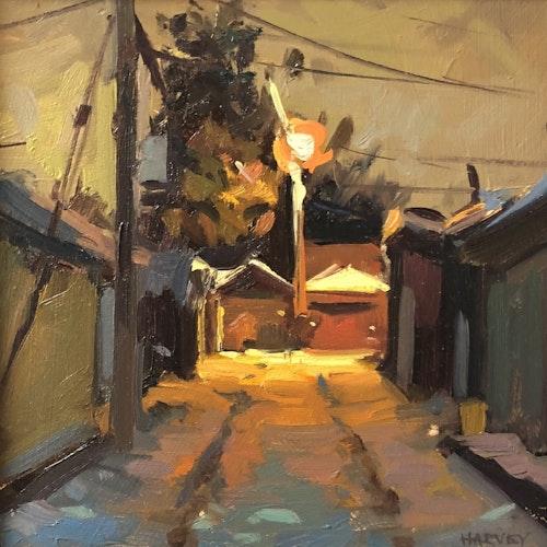 Evening Laneway