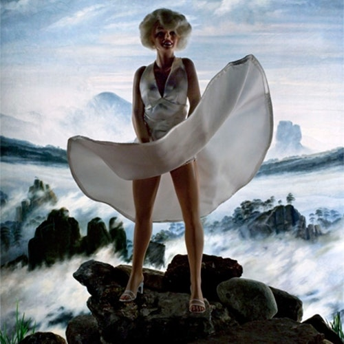 Wanderer above a Sea of Ice (Marilyn)