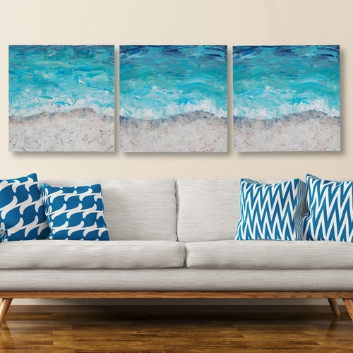 Seashore Triptych