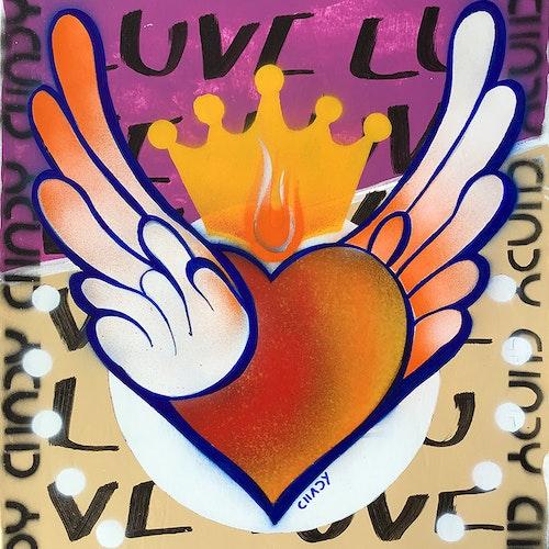 Flying Heart | LOVE - Z85-095-8R9