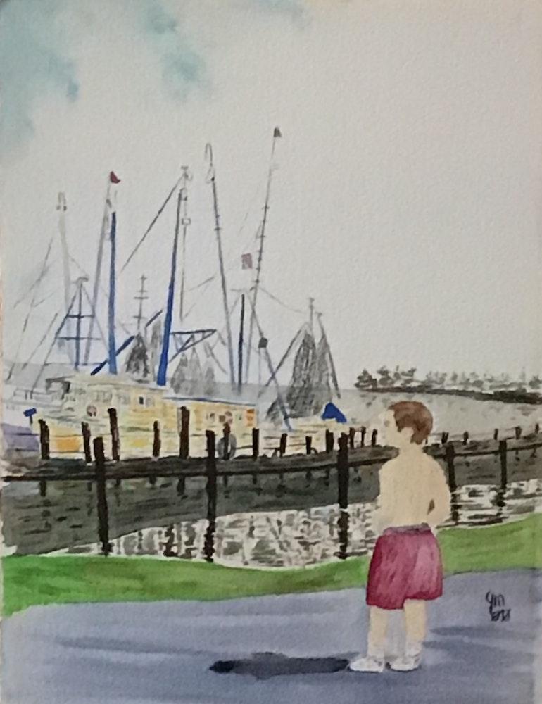 Dockside dreamer