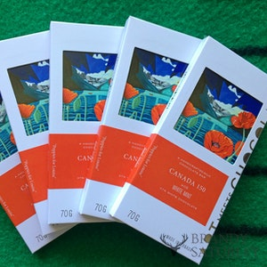 Image licensing to artisan chocolate brand - Poppies For Louise