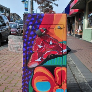 Image Licensing - Artwork on city utilities boxes in Sidney, BC