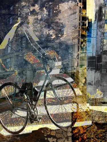Urban Cyclist Blue