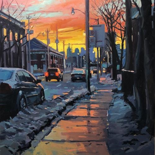 February, Eastern Avenue