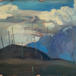 Hikers, Lynn Peak 1935