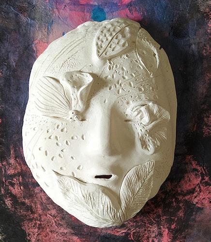 Masque des feuillages désinvoltes
