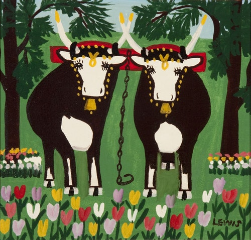 Pair of Oxen