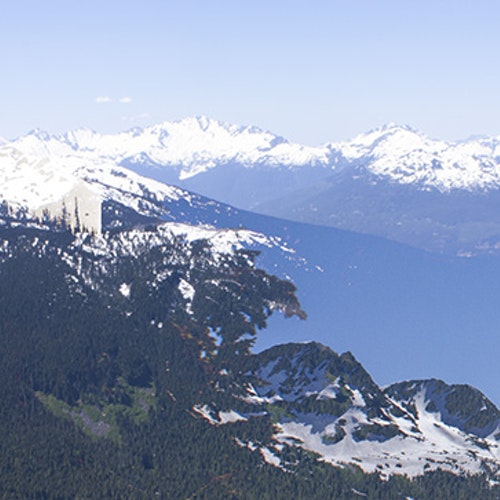 Whistler Mountain Skyline