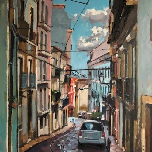 Alfama Street, Lisbon
