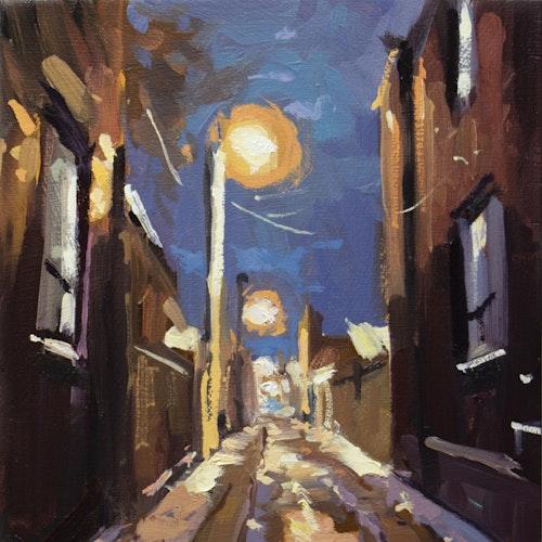 Winter Evening Laneway